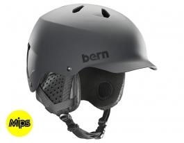Bern Watts MIPS Ski Helmet - Matte Grey