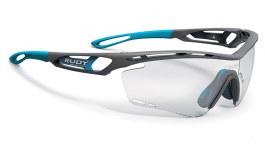 Rudy Project Tralyx Prescription Sunglasses - Clip-On Insert - Matte Pyombo / ImpactX 2 Photochromic Black