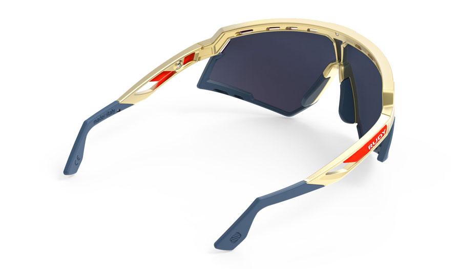 efa799a4b6 Rudy Project Defender Sunglasses - Matte Gold   Navy   Multilaser ...