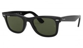 Ray-Ban RB2140 Original Wayfarer Sunglasses - Black / Green