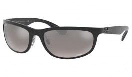 Ray-Ban RB4265 Sunglasses - Black / Silver Mirror Chromance Polarised