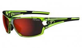 Tifosi Amok Sunglasses - Crystal Neon Green / Clarion Red + AC Red + Clear