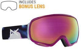 Anon Tempest Ski Goggles - Watercolor / Sonar Pink