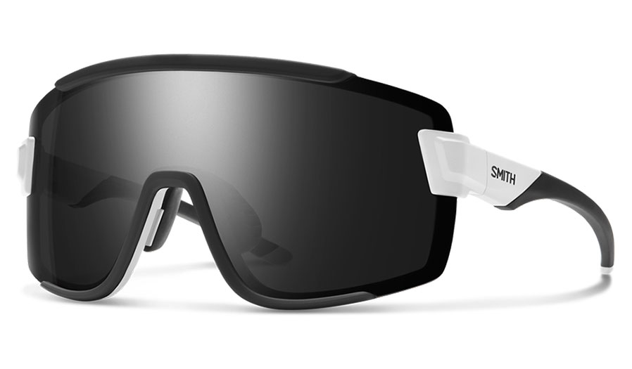 Smith Wildcat Sunglasses - Matte White / ChromaPop Black + Clear