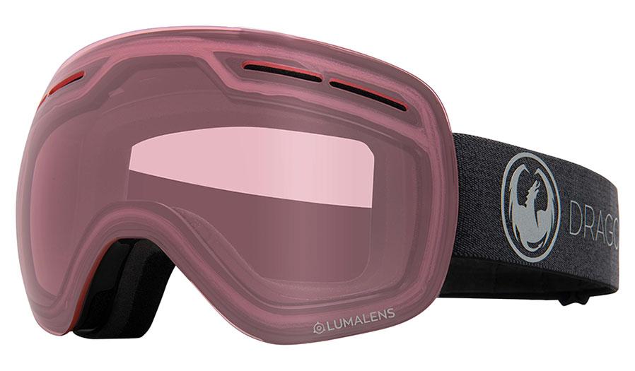 Dragon X1S Ski Goggles - Echo / Lumalens Light Rose Photochromic