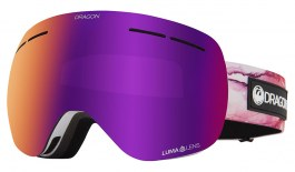 Dragon X1S Ski Goggles - Merlot / Lumalens Purple Ion + Lumalens Violet