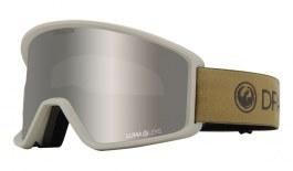 Dragon DXT OTG Ski Goggles - Block Beige / Lumalens Silver Ion