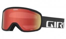 Giro Cruz Prescription Ski Goggles - Black Wordmark / Amber Scarlet