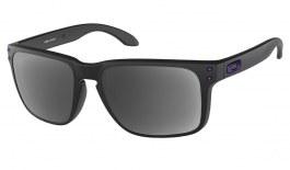 Oakley Holbrook XL Prescription Sunglasses - Matte Black (Violet Icon)