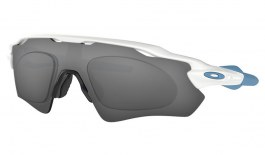 Oakley Radar EV Path Prescription Sunglasses - Polished White & Blue