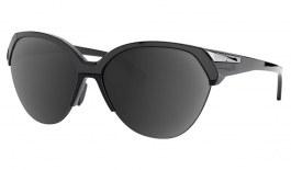 Oakley Trailing Point Prescription Sunglasses - Polished Black