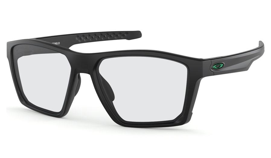 356f868233a Oakley Targetline Prescription Sunglasses - Polished Black (Gunmetal ...