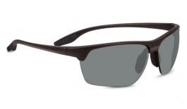 Serengeti Linosa Prescription Sunglasses - Sanded Dark Brown