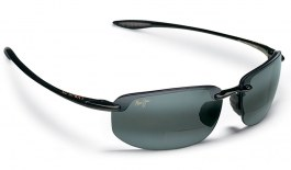 Maui Jim Ho'okipa Readers - Gloss Black / Neutral Grey Polarised