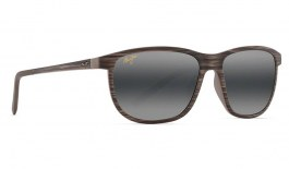 Maui Jim Dragon's Teeth Prescription Sunglasses - Brown Stripe
