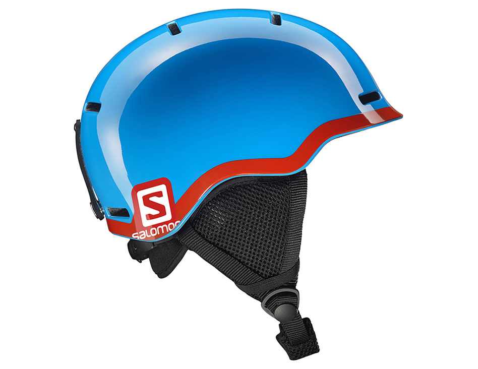 Salomon Grom Ski Helmet - Blue Red