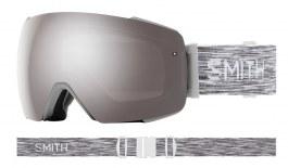 Smith Optics I/O MAG Ski Goggles - Cloudgrey / ChromaPop Sun Platinum Mirror + ChromaPop Storm Rose Flash