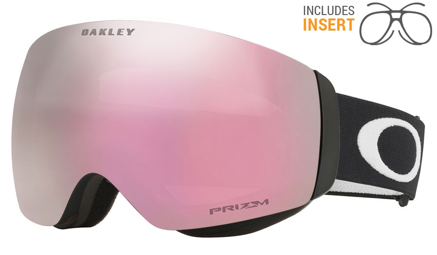 d4037c2e74 Oakley Flight Deck XM Prescription Ski Goggles - Matte Black   Prizm ...