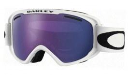 Oakley O Frame 2.0 XM Ski Goggles - Matte White / Violet Iridium