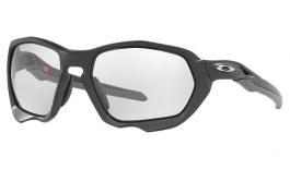 Oakley Plazma Sunglasses - Matte Carbon / Clear to Grey Black Iridium Photochromic