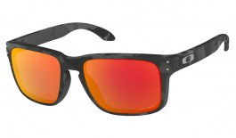 Oakley Holbrook Sunglasses - Black Camo / Prizm Ruby