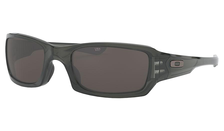 Oakley Fives Squared Sunglasses - Grey Smoke / Warm Grey