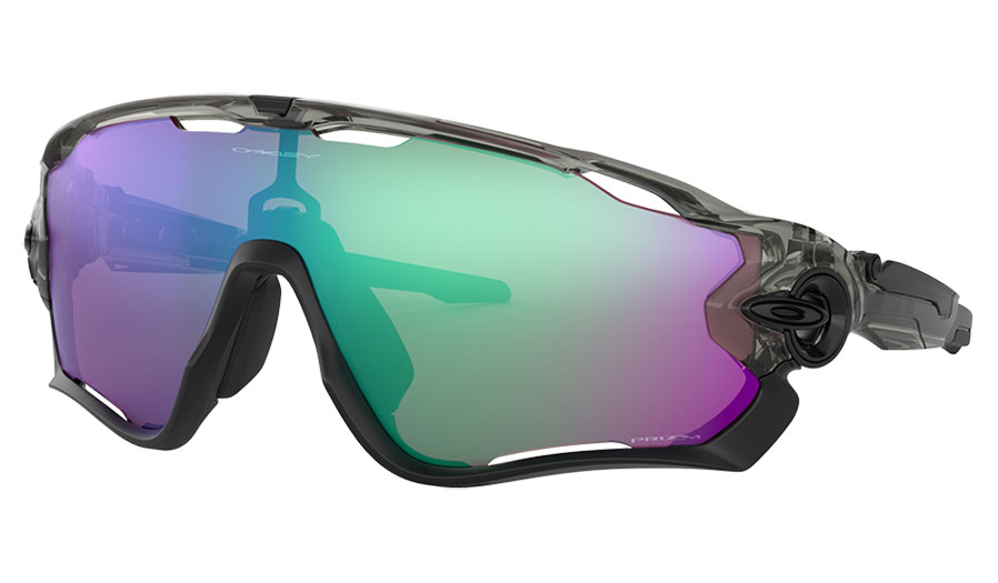 Oakley Jawbreaker Sunglasses - Grey Ink / Prizm Road Jade