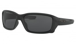 Oakley Straightlink Sunglasses - Matte Black / Grey