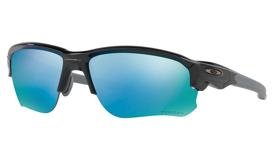 b723828dc8 Oakley Flak Draft Sunglasses. Frame  Polished Black. Lens  Prizm Deep Water  Polarised