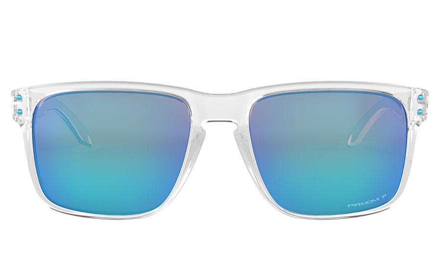 f8bd4dfe52 Oakley Holbrook XL Sunglasses - Polished Clear   Prizm Sapphire ...