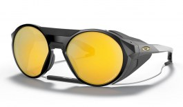 Oakley Clifden Sunglasses - Matte Black / Prizm 24K Polarised