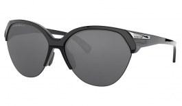 Oakley Trailing Point Sunglasses - Polished Black / Prizm Black Polarised