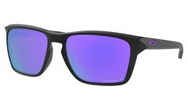 Oakley Sylas Sunglasses - Matte Black / Prizm Violet Polarised