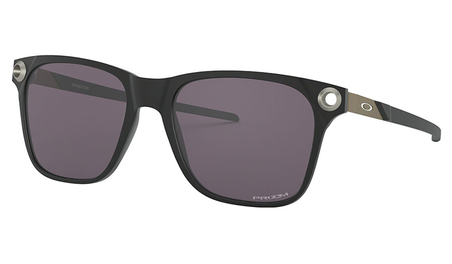 Oakley Apparition Sunglasses - Satin Black / Prizm Grey