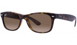 Ray-Ban RB2132 New Wayfarer Sunglasses - Tortoise / Brown Gradient