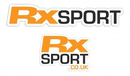 RxSport Stickers - 5 Pack