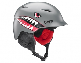 Bern Camino Ski Helmet - Satin Grey Flying Tiger