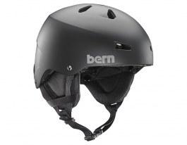 Bern Team Macon Ski Helmet - Matte Black