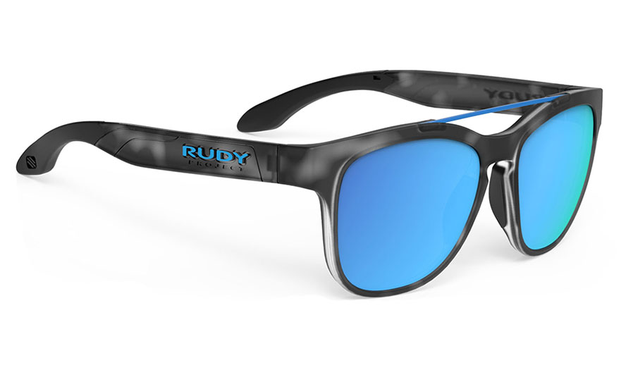 Rudy Project Spinair 59 Sunglasses - Matte Demi Grey / Multilaser Blue