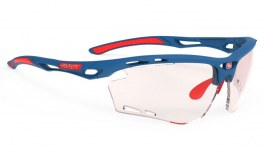 Rudy Project Propulse Sunglasses - Pacific Matte Blue / ImpactX 2 Photochromic Red