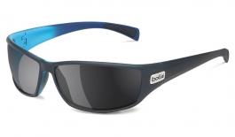 Bolle Python Prescription Sunglasses - Matte Black & Blue