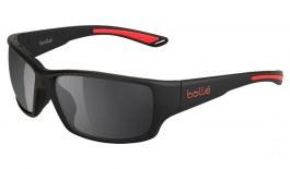 Bolle Kayman Prescription Sunglasses - Matte Black & Red