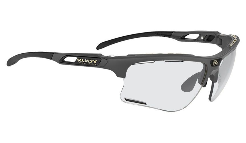 Rudy Project Keyblade Prescription Sunglasses - ImpactRX Directly Glazed - Matte Charcoal