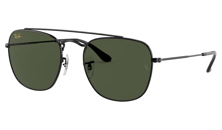 Ray-Ban RB3557 Sunglasses - Black / Green