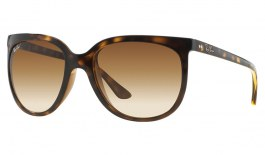 Ray-Ban RB4126 Cats 1000 Sunglasses - Tortoise / Brown Gradient