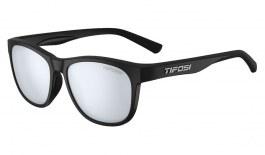 Tifosi Swank Sunglasses - Satin Black / Smoke Bright Blue