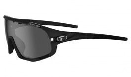 Tifosi Sledge Sunglasses - Matte Black / Smoke + AC Red + Clear