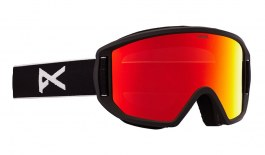 Anon Relapse Jr MFI Ski Goggles - Black / Red Solex
