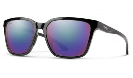 Smith Shoutout Sunglasses - Black / ChromaPop Violet Mirror Polarised