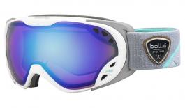 Bolle Duchess Ski Goggles - White & Grey / Aurora